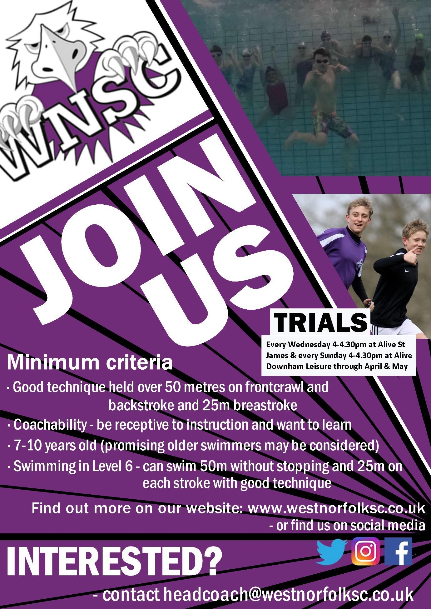 Trials poster